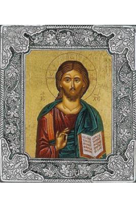 Icon Silver / Χριστός
