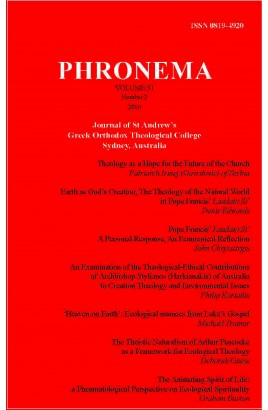Phronema Volume 31, Number 2, 2016