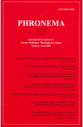 Phronema Volume 28, Number 2, 2013